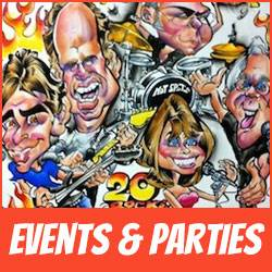 Caricaturist Mark Hall Works Events And Parties