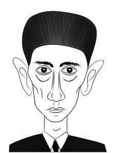 Franz Kafka Caricature